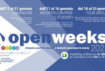 All'Alfano comincia OpenWeeks 2021, per scoprire i Licei di Termoli