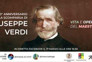 La Consulta Giovanile di Vasto nel 160° anno dall'Unità d'Italia ricorda Giuseppe Verdi