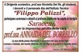 Il Palizzi di Vasto piange la scomparsa della Prof.ssa Annaida Del Borello