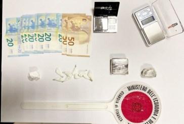 Trovato in possesso di 72 grammi di hashish, ortonese ai domiciliari