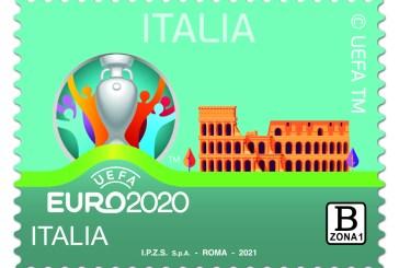 Poste Italiane, un francobollo per gli Europei di Calcio 2021