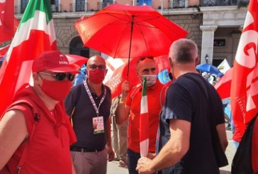 Cgil Abruzzo e Molise a Bari, a rischio 15mila posti