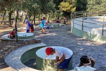 Concluso, con una grande partecipazione, il primo step di riqualificazione dell'area della pista di pattinaggio della Villa Comunale