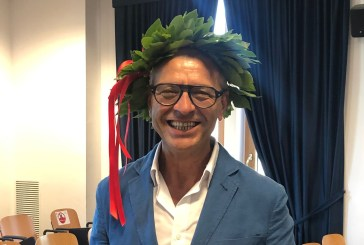 La laurea di Mario Baiocco