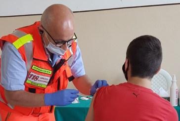 Covid-19, week-end di vaccinazioni nel Frentano. A Fossacesia aperti fino a notte fonda per il concerto di domenica
