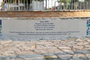 Riqualificata la fontana nella Villa Comunale di Scerni
