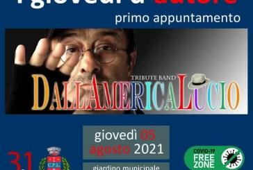 """Cupello, alle 21.30 """"DallAmericaLucio"""", tributo all'artista Lucio Dalla"""