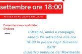 Gianni Mariotti è il candidato sindaco del