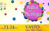 A Vasto il Festival della Psicologia d'Abruzzo