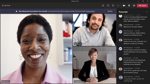 Microsoft Teams erhält eine neue Funktion, die eine schriftliche Aufzeichnung Ihres Meetings erstellt