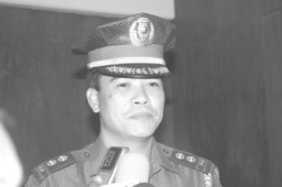 Laoag City Chief of Police Supt. Sterling Blanco