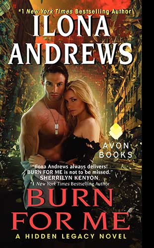 Book Cover: Burn For Me