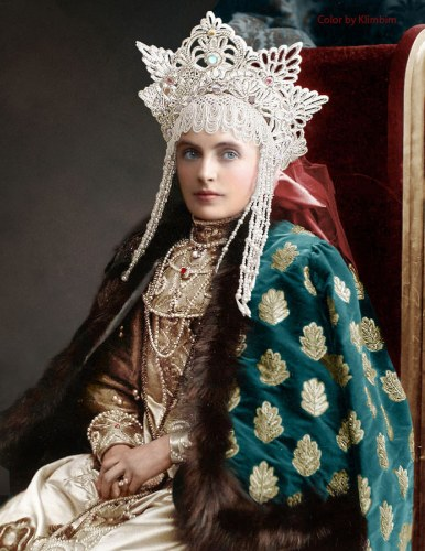 Baroness Emma Freedericksz, Lady in Waiting