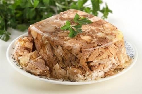 holodetz, a Russian dish