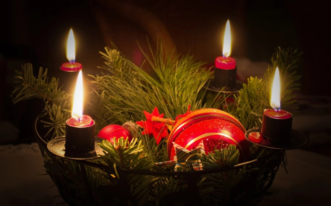Advent: First Sunday Begins with Lighting First Candle