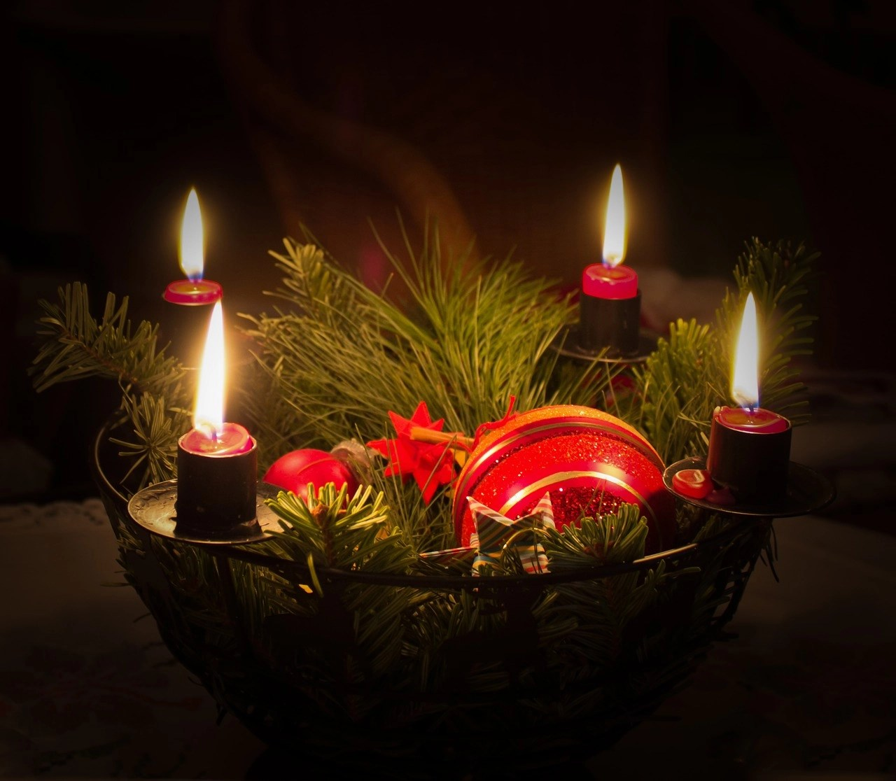 Advent First Sunday Begins with Lighting First Candle & Advent: First Sunday Begins with Lighting First Candle | Ilona1