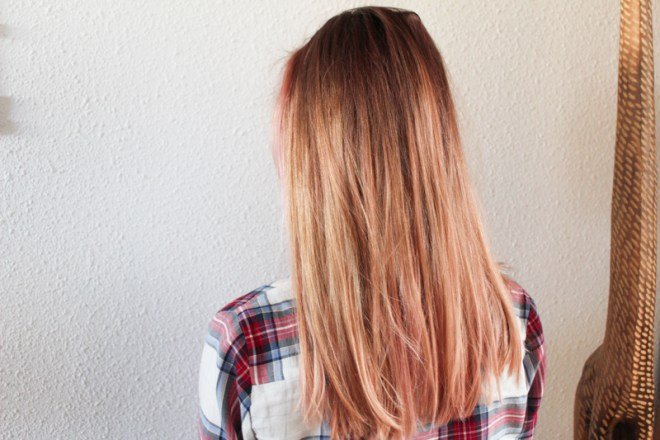 roze haar 2