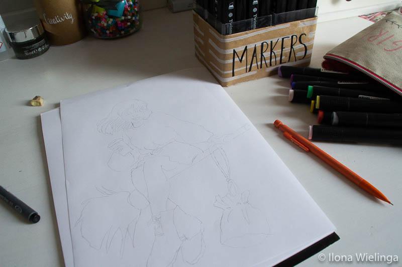 marker illustratie 2