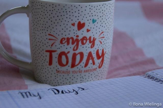 bullet journal 5 my days mok enjoy today