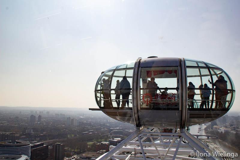 Londen 2 uitzichten Londen eye