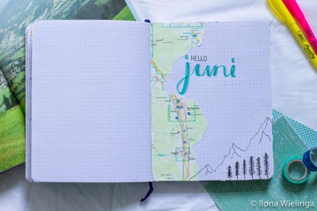 bullet journal juni