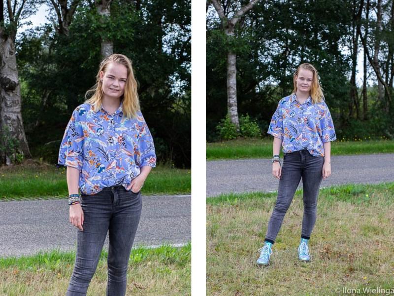 outfit 5 bloeiende heide