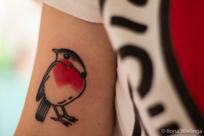 tattoo 2 roodborstje rinto