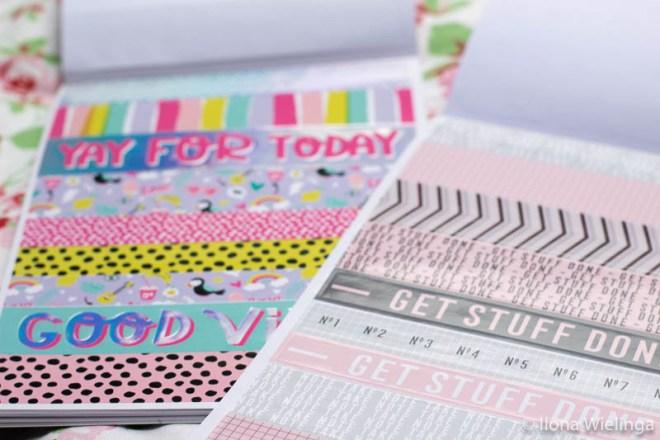 stickers bullet journal action stickerboekjes 4