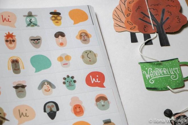 flow 8 leuke kleine stickers