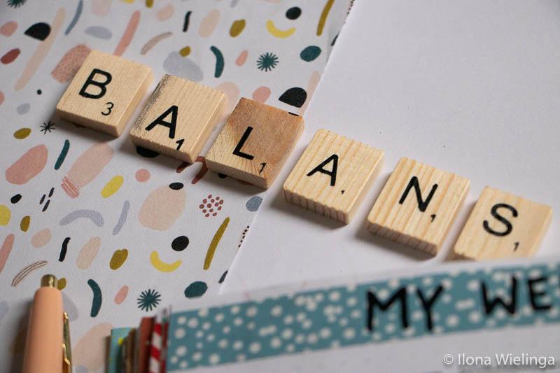 balans in je dag plannen 2