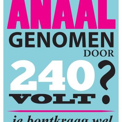 Poster voor Bont voor Dieren (via Boomerang)