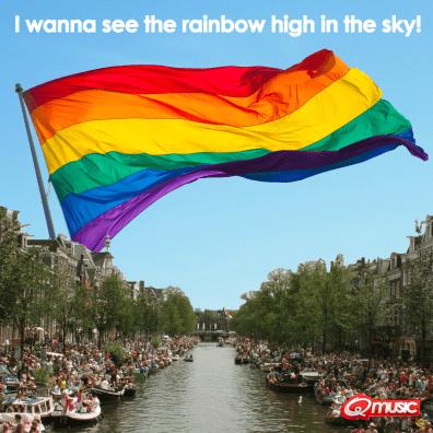 Rainbow voor Q-music