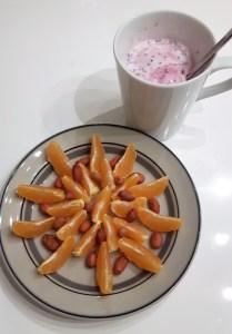 marjajogurt mandariinidega