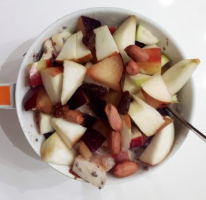 Õuna-virsiku-ploomijogurt