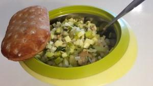 Kana-köögiviljasalat