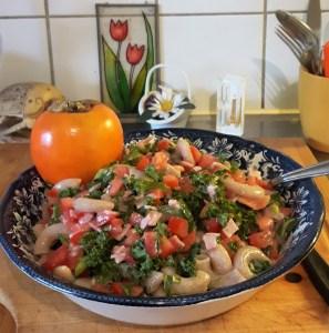 Tomati-rukkimakaronisalat