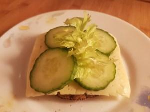 Rukkinäkileib juustuga
