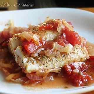 Fish Cod with Tomatoes