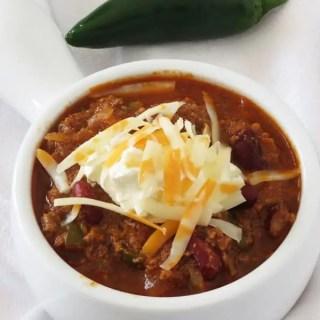 Crock Pot Chili