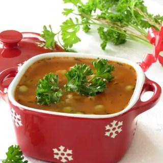 Brown Rice Beef Barley Soup