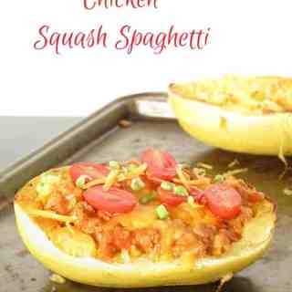 Chicken Squash Spaghetti