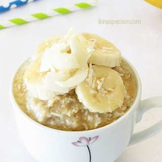 Banana Coconut Oatmeal