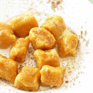 Sweet Potato Gnocchi with Brown Sugar