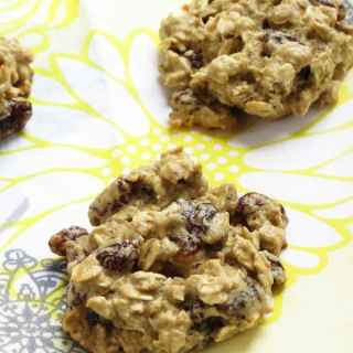 Oat and Raisin Cookies {Gluten Free}
