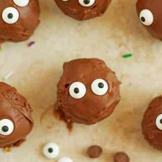 Halloween Chocolate Pumpkin Truffles