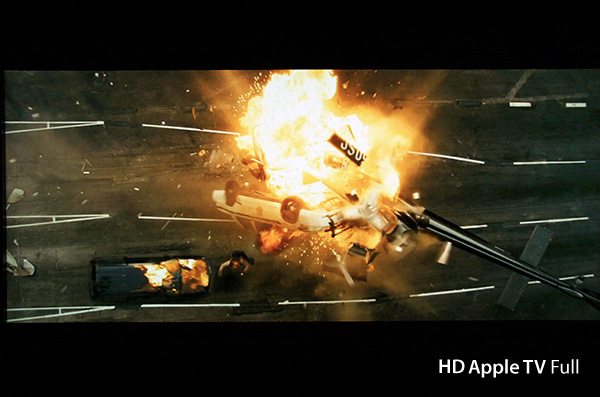 Blu-Ray vs  AppleTV HD vs  Comcast HD vs  DVD | Psychohistory
