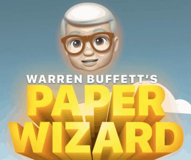 Warren Buffet's Paper Wizard