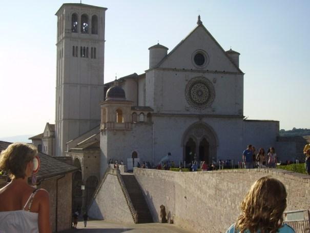 Assisi katedrála sv. Františka