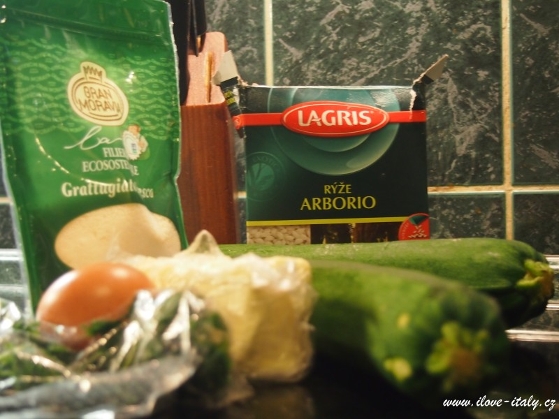 ingredience risotto