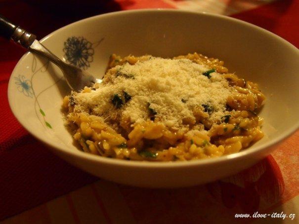 italské risotto s cuketou